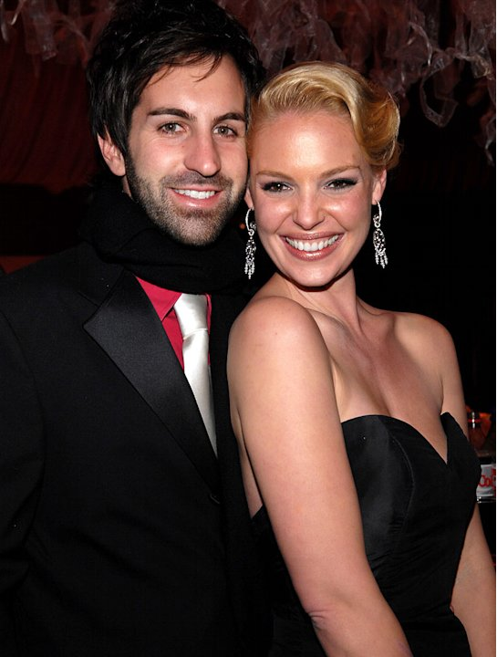 Josh Kelley and Katherine Heigl at the In Style and Warner Bros. 2007 Golden Globe After Party. 