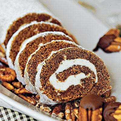 5. Pumpkin Roll