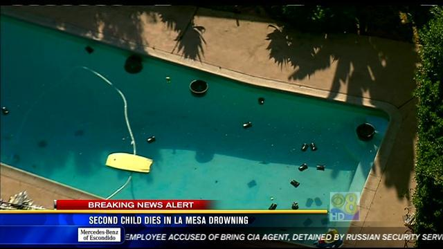 Second child dies in La Mesa drowning