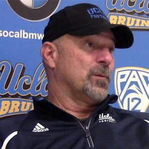 Noel Mazzone after win over Arizona