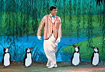 Dick Van Dyke in Walt Disney's Mary Poppins