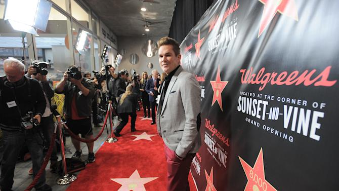 Mark McGrath attends Walgreens 8000th Store Opening, on Friday Nov. 30, 2012, in Los Angeles. (Photo by Jordan Strauss/Invision for Walgreens/AP Images)
