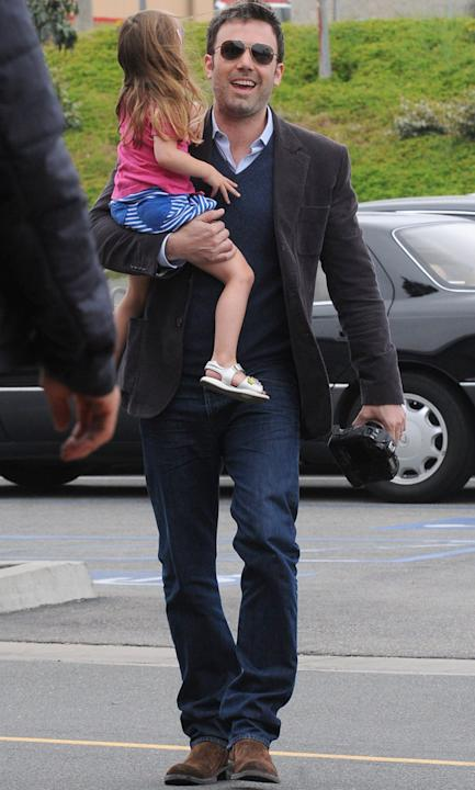 Hottest Celebrity Dads: Ben Affleck