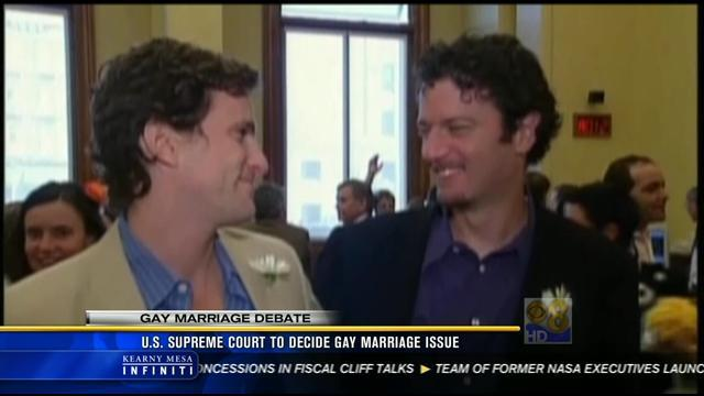 U.S. Supreme Court to decide gay marriage issue