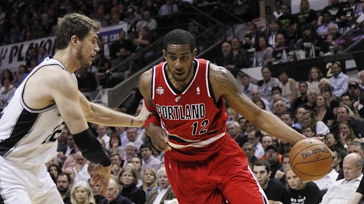 AP Source: Blazers offer Aldridge max extension