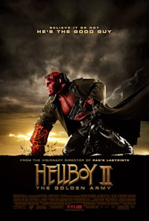 Poster of Hellboy II: The Golden Army