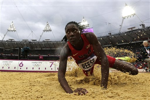 Reese wins Olympic long jump gold for America