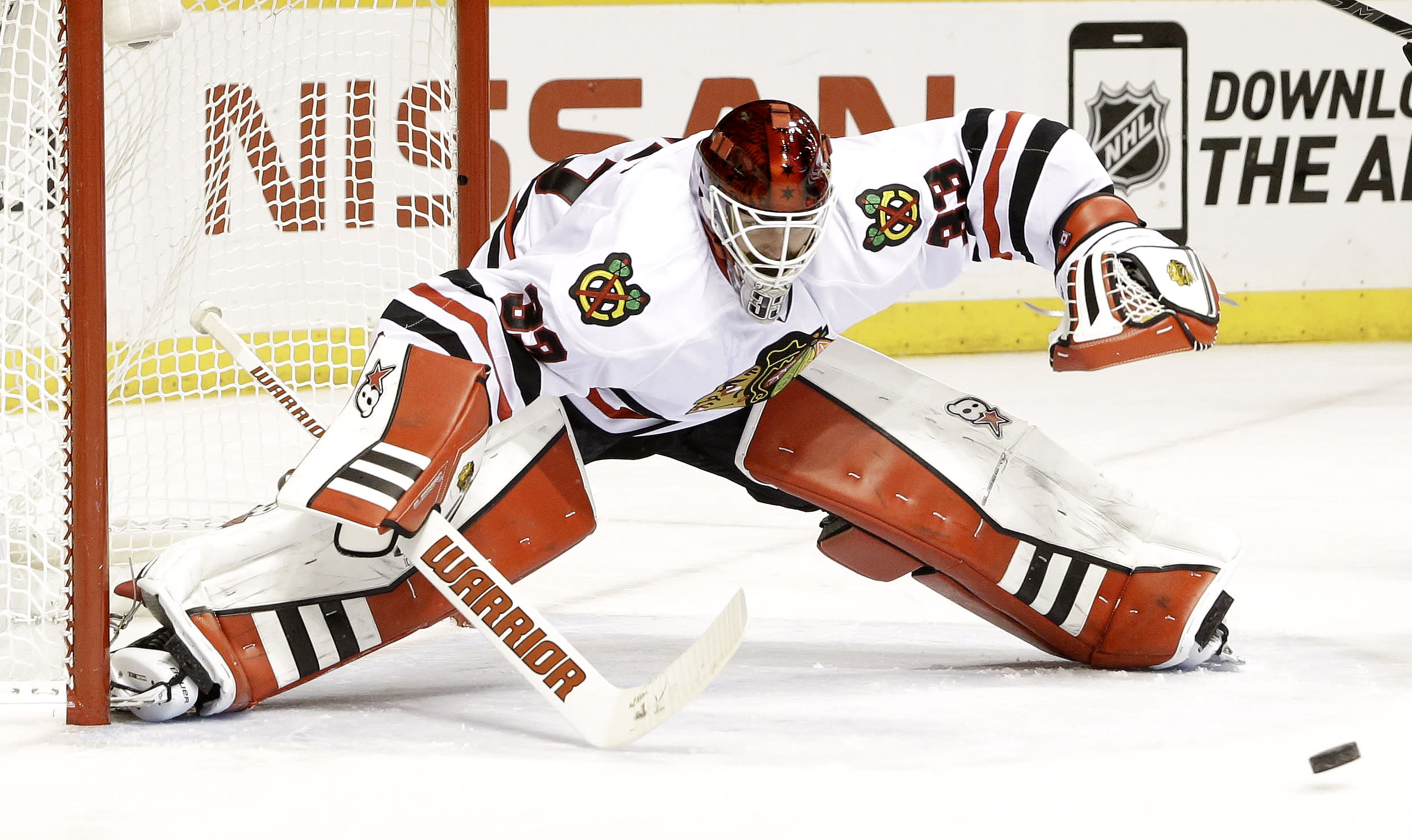 Rookie G Darling to start for Blackhawks in Game 3 vs Preds