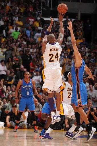 Lakers outlast Thunder 114-106 in double OT