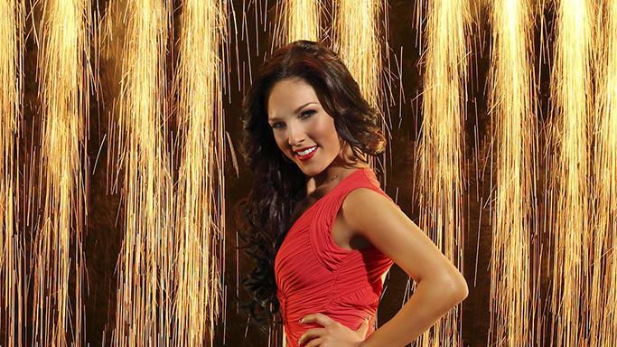 """Dancing with the Stars"" Season 16 SHARNA BURGESS"