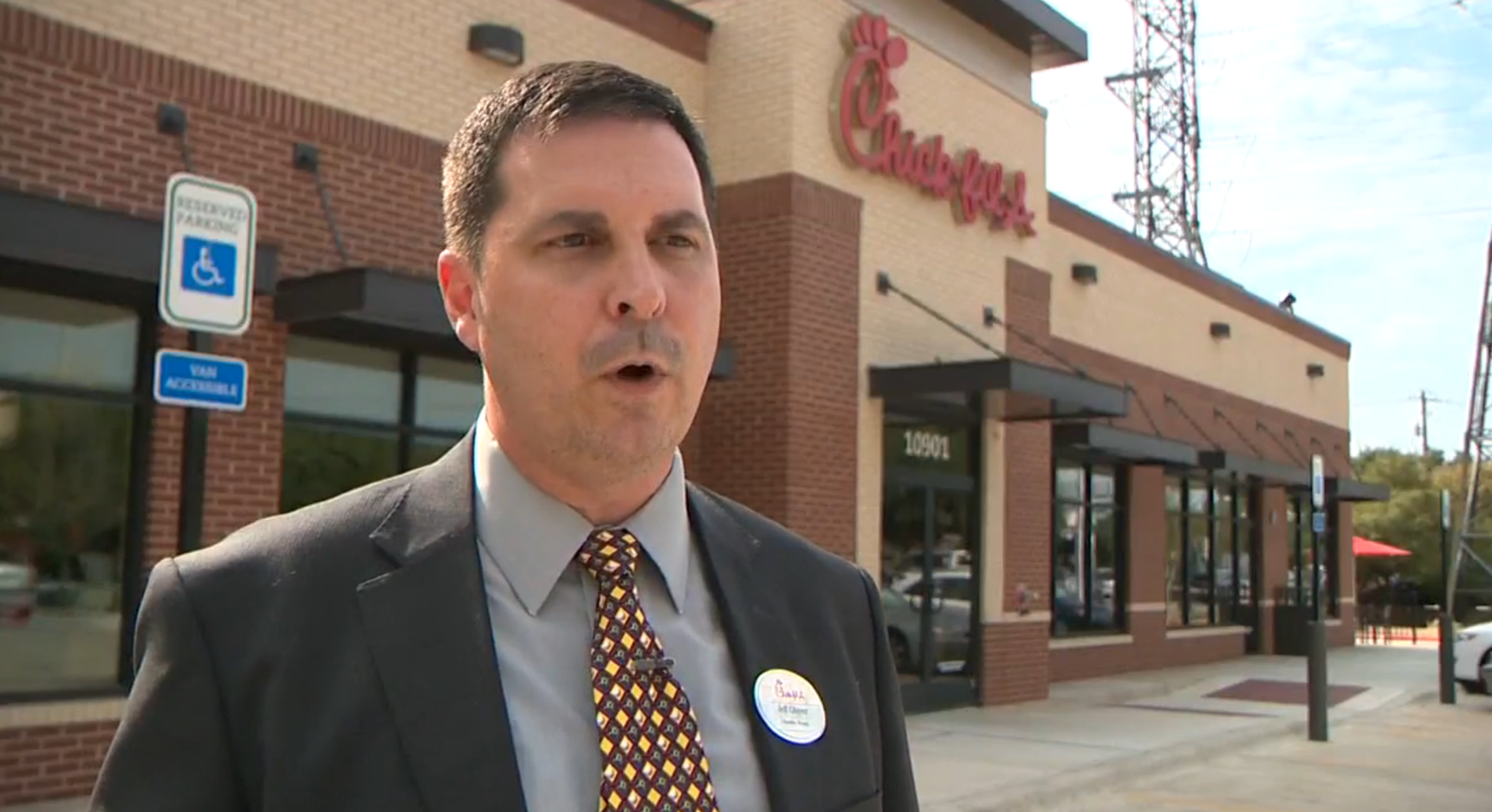 A Chick-fil-A owner shocked his employees in the best way after shutting down for renovations