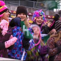 Hearty Fans Brave Outdoor High School Prep Bowl