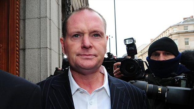 Paul Gascoigne is not blaming anyone but himself for his latest relapse