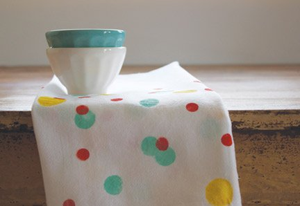 Confetti Printed Tea Towels