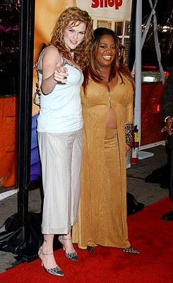 Sara Rue and Sherri Shepherd at the LA premiere of MGM's Beauty Shop