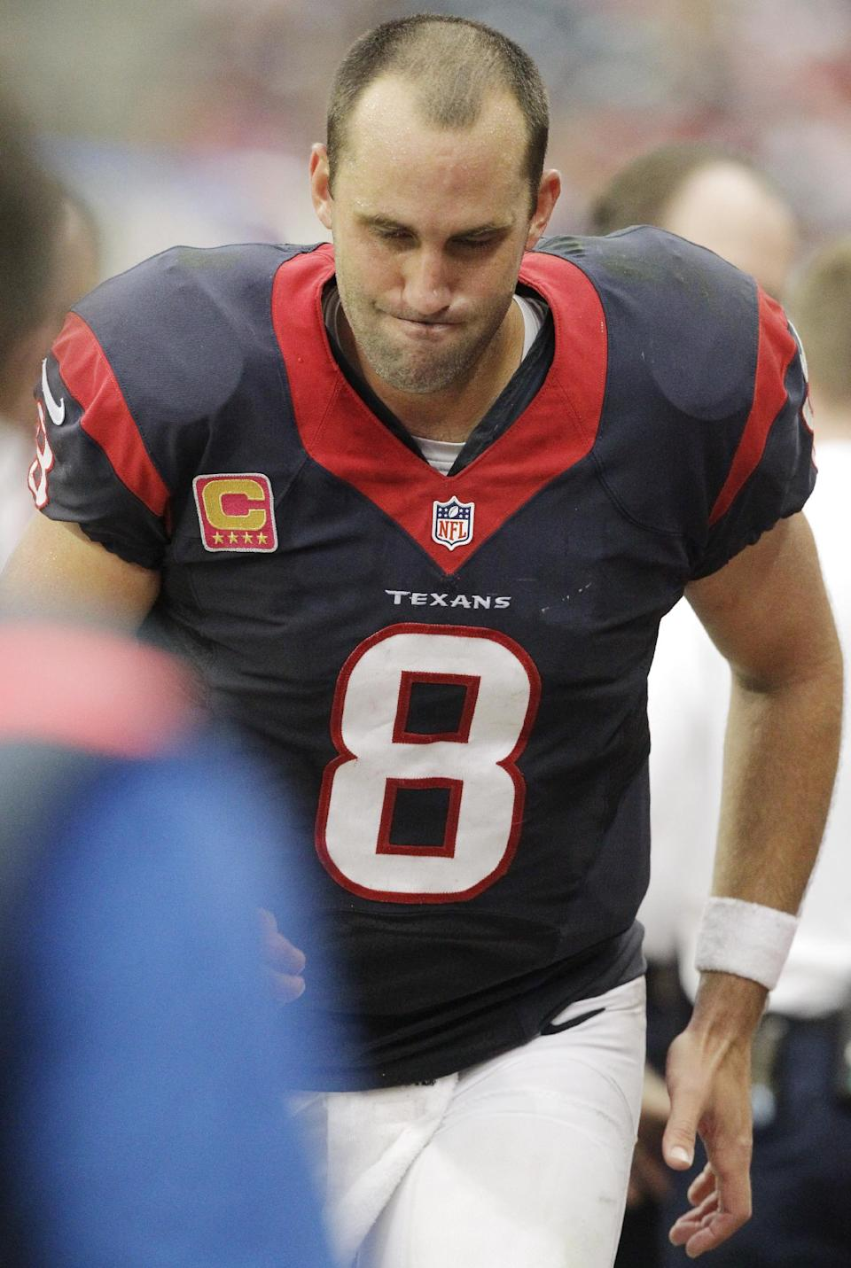Mistakes have put Texans on 4-game skid