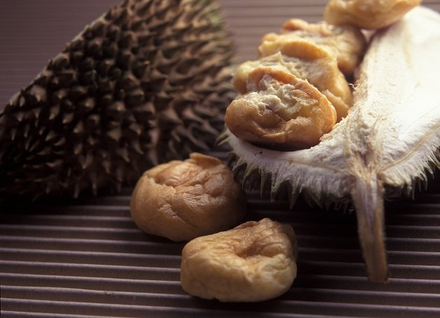 Did you know that Raffles hated durians?