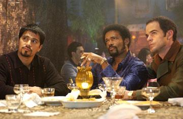 Jay Hernandez , Mario Van Peebles and Michael Kelly in Rogue Pictures' Carlito's Way: Rise to Power