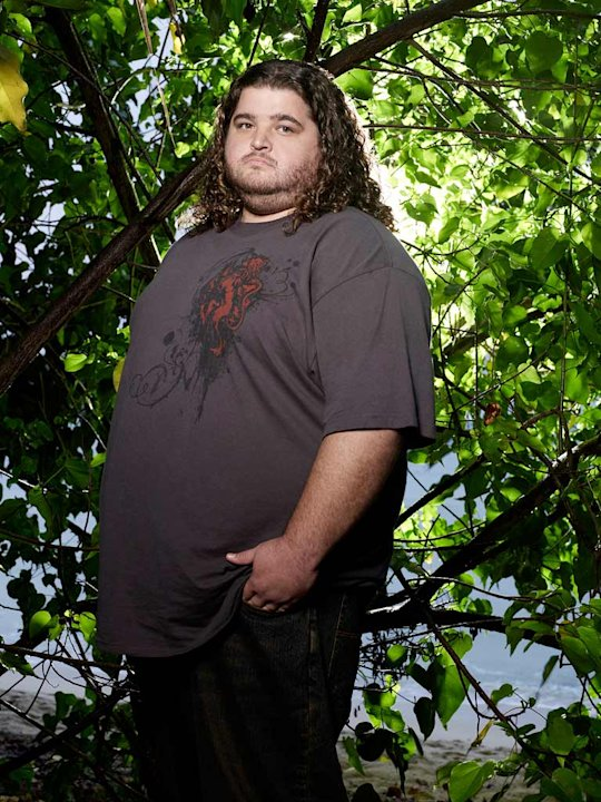Jorge Garcia stars as Hurley in Lost.