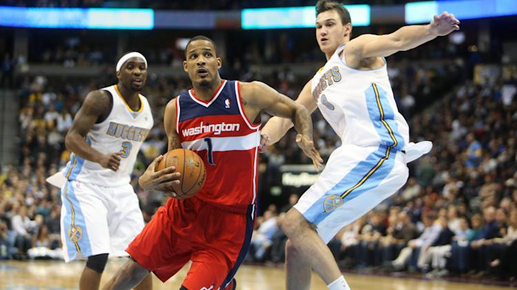 NBA: Washington Wizards at Denver Nuggets