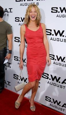 Ashley Scott at the LA premiere of S.W.A.T.