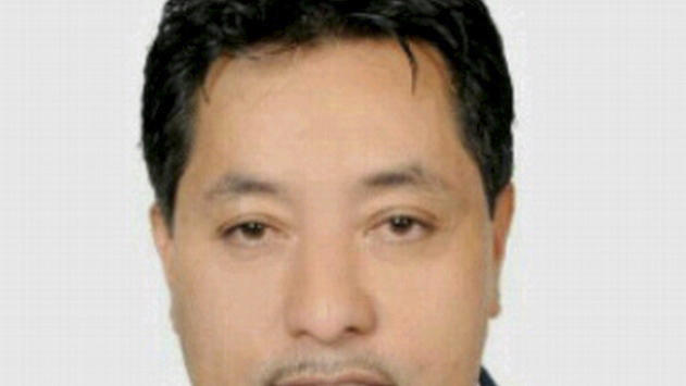 Undated ID photo of human rights lawyer Antonio Trejo Cabrera, 41, who was gunned down after a wedding party  in Tegucigalpa, Honduras, Sunday Sept. 23, 2012. Trejo was a lawyer for three peasant cooperatives in the Bajo Aguan, a fertile farming area plagued by violent conflicts between agrarian organizations and land owners. (AP Photo)