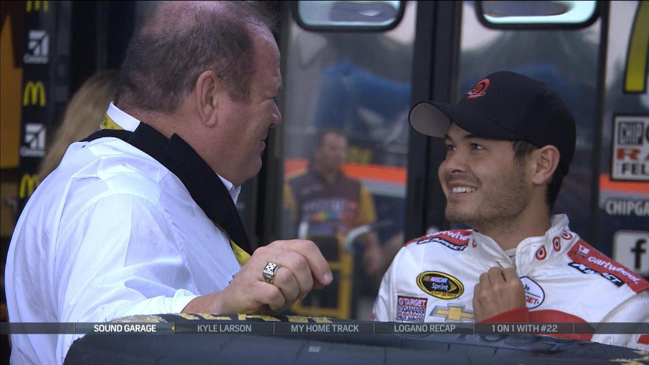 Kyle Larson wants to be aggressive when he can