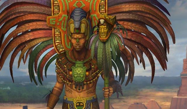Civ V - Pacal of the Mayans