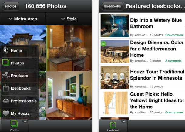 Houzz Interior Design Ideas App.