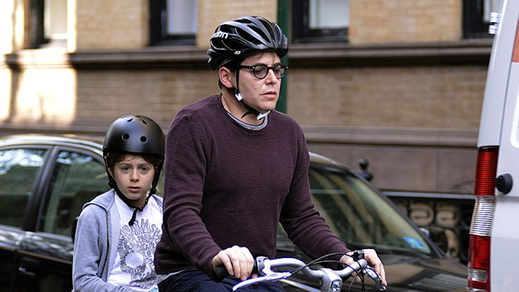 Matthew Broderick Takes James To School
