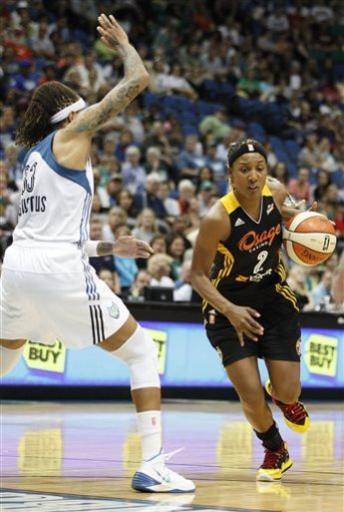 Moore, Augustus score 22, lift Lynx over Shock