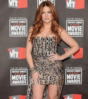 Khloe Kardashian attends the 16th Annual Critics Choice Movie Awards on January 14, 2011 in Hollywood -- WireImage