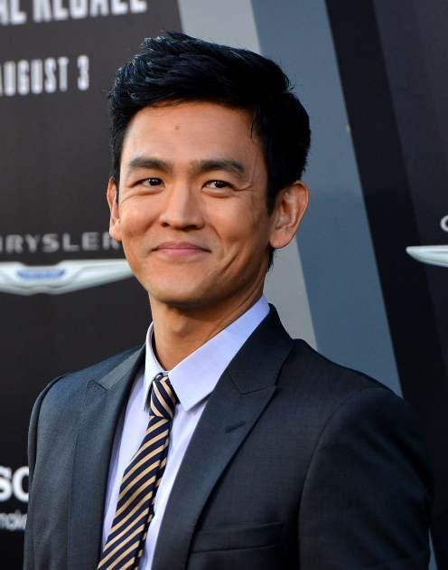 John Cho arrives at the premiere of Columbia Pictures' 'Total Recall' held at Grauman's Chinese Theatre on August 1, 2012 in Hollywood, Calif. -- Getty Images