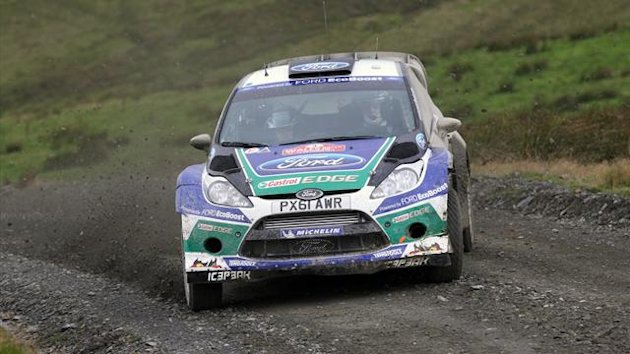 Latvala on Rally GB