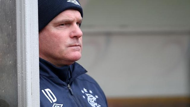 Ian Durrant hopes the young Rangers players soon learn to cope with the pressure they are under