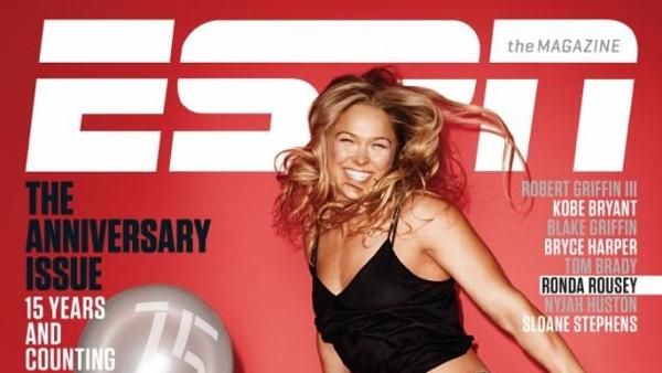 Ronda Rousey Returns to ESPN The Magazine for Special 15th Anniversary Cover