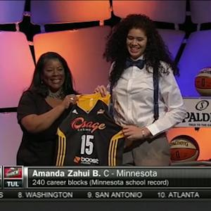 Amanda Zahui B.: 2nd Pick of the 2015 WNBA Draft