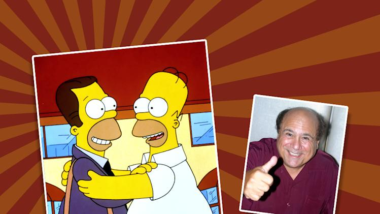 Danny DeVito guest starring on The SImpsons