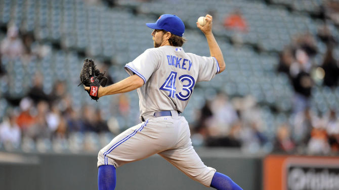 MLB: Toronto Blue Jays at Baltimore Orioles