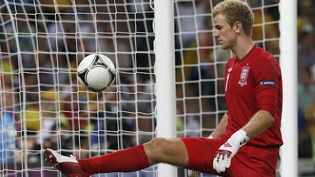 Euro 2012 England goalkeeper Joe Hart