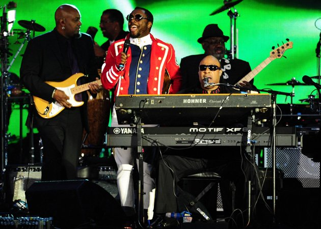 Will.i.am, Stevie Wonder, Diamond Jubilee Concert