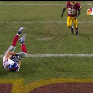 New York Giants tight end Brandon Myers 22-yard touchdown catch