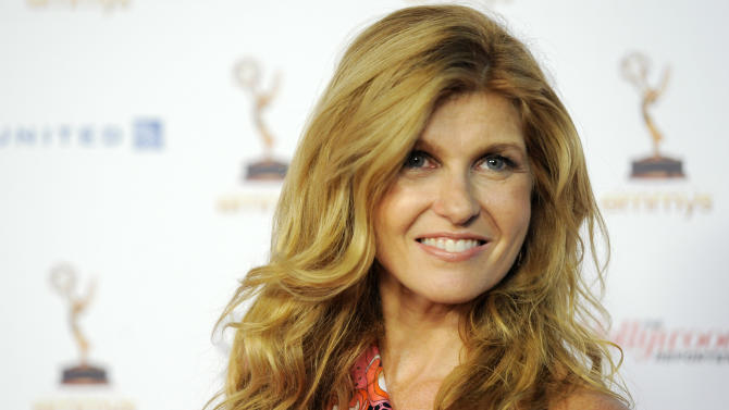 "Connie Britton, an Emmy nominee for Lead Actress in a Drama Series for ""Friday Night Lights,"" poses at the 63rd Primetime Emmy Awards Performers Nominee Reception, Friday, Sept. 16, 2011, in Los Angeles. The Primetime Emmy Awards will be held on Sunday in Los Angeles. (AP Photo/Chris Pizzello)"