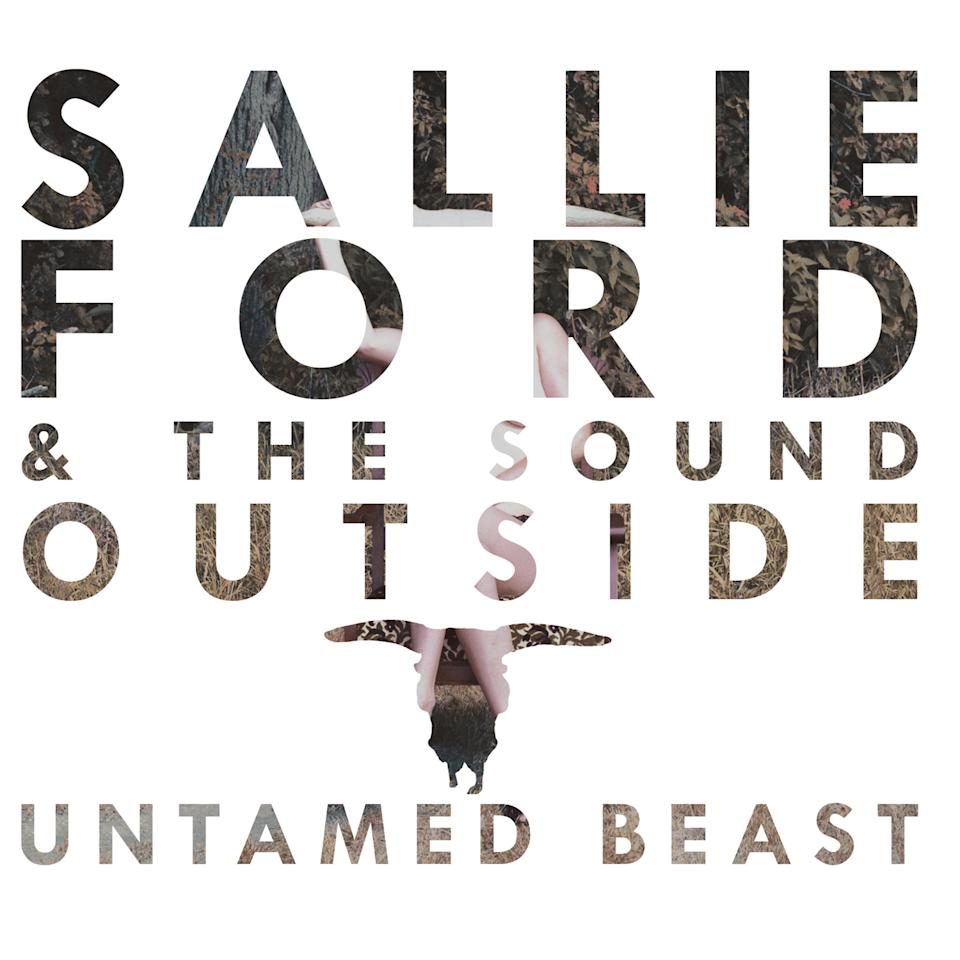 "This CD cover image released by Partisan Records shows ""Untamed Beast,"" by Sallie Ford & The Sound Outside. (AP Photo/Partisan Records)"