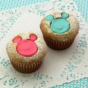 Use some Disney inspiration for your cupcakes!