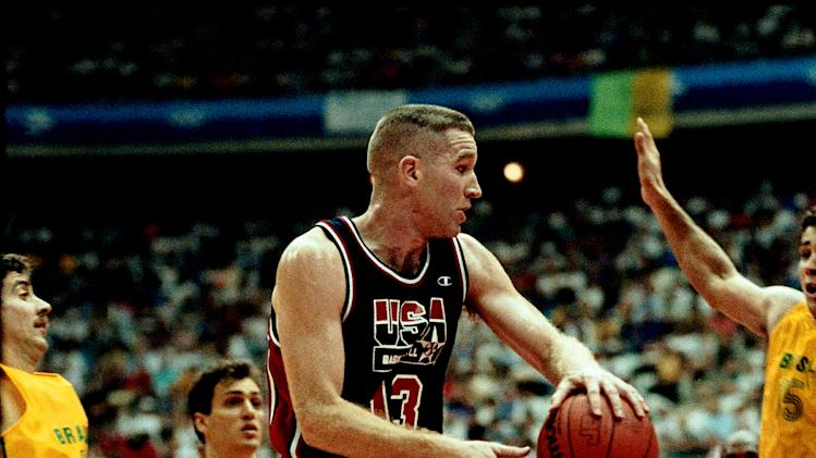Chris Mullin Olympic Action Portrait