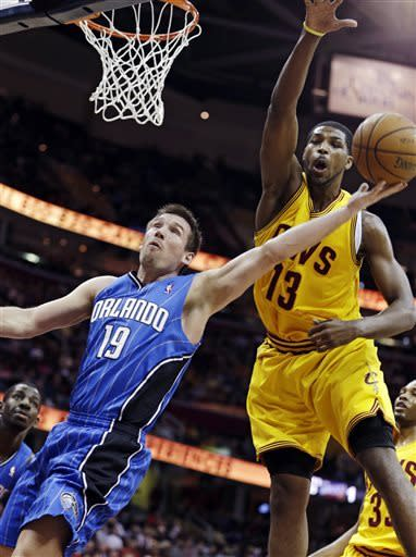 Gee, Thompson lead Cavaliers past Magic, 91-85