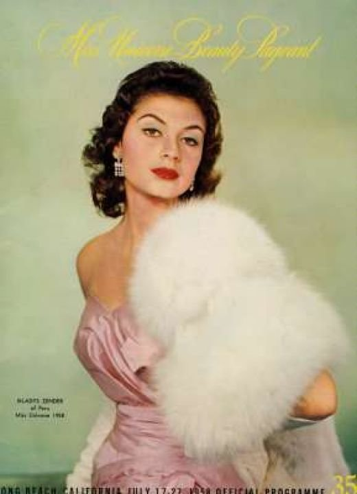 Gladys Zender - Peru, Miss Universe 1957