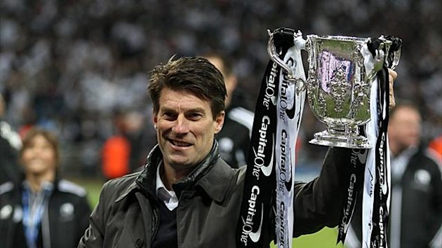 Michael Laudrup guided Swansea to Capital One Cup glory on Sunday