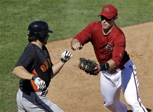 Parra homers off Zito, D-backs beat Giants 4-3